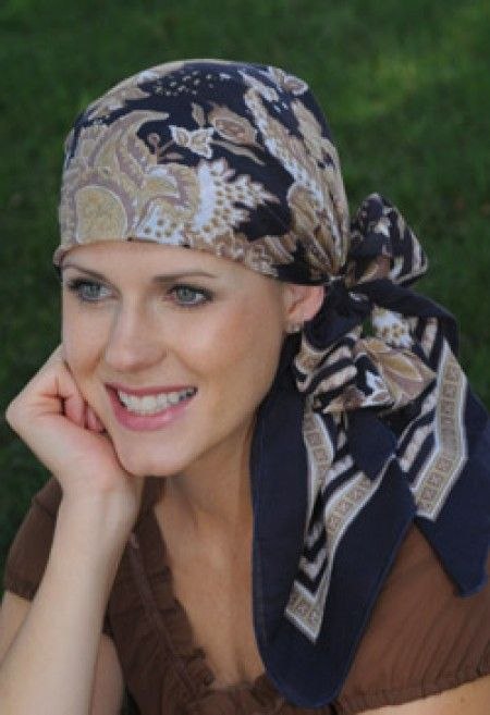 cancer scarves cotton square woodblock scarves