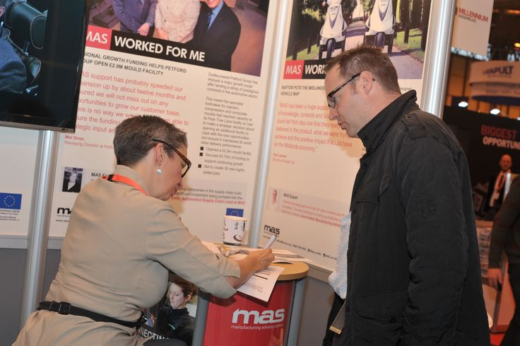 Networking at the Advanced Engineering Show