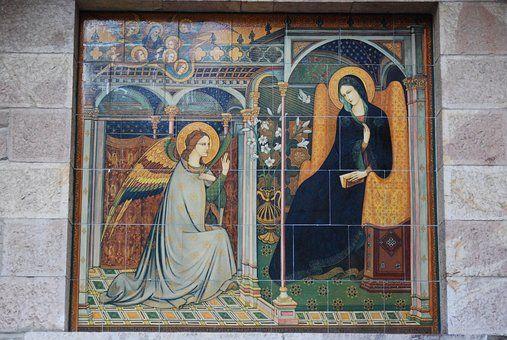 Italien, Assisi, Jungfru Maria