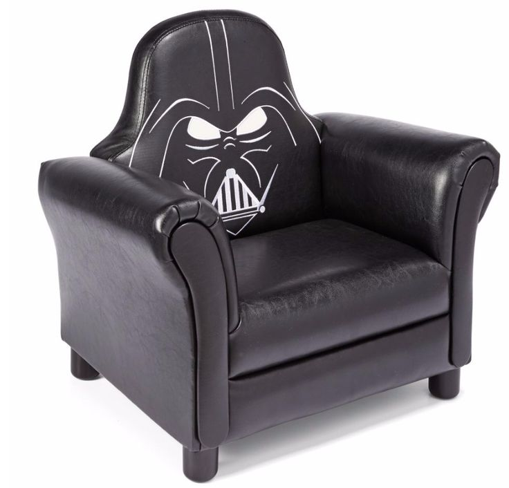 Take a seat on the Dark Side with this Star Wars Upholstered Chair from Delta Children. #darthvader #searscanada #starwars