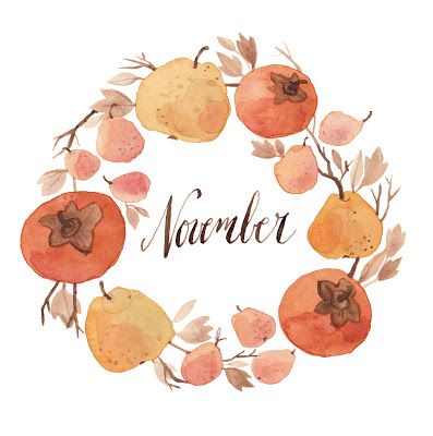 November | kelseygarrityillustration.blogspot.com