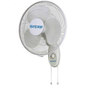 Fan Wall Mount Oscillating Air Speed 16 Cooling AdjustableTilt Home Office  Fan