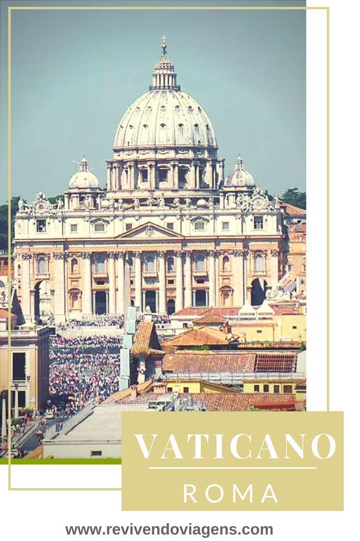 O Vaticano é uma das atrações imperdíveis pra quem visita Roma, independente da religião. Itália. Europa.
