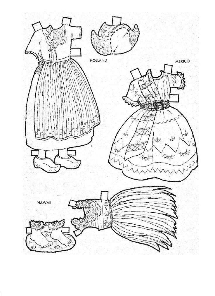 405 Best Images About Paper Dolls And Pictures To Color On Coloring Pages For Paint Program