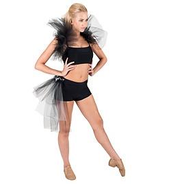 Adult Side Bustle Tutu Shorts-