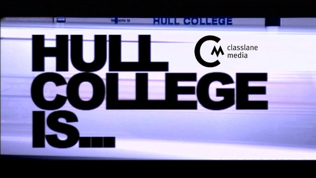 Hull College's marketing team invited Classlane Media to create a promo that would encourage school leavers to consider a future with the college. We decided that there was no better way to convince school leaver's of the benefits of college life than to show their immediate piers enjoying just that. Interviews were carried out in all the major college departments, contemporary music selected, cool graphics created for the edit and what do you know? College admissions soared.