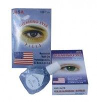 OBAT TETES MATA GLEAMING EYES PILLS USA - Herbal Pasutri Farma