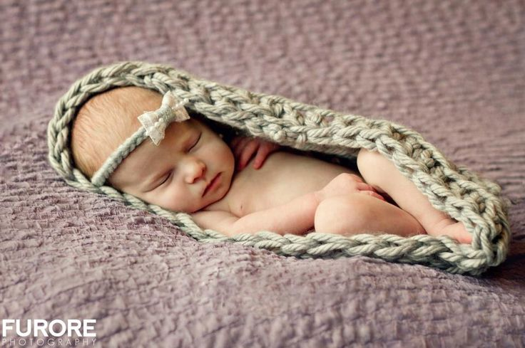 A personal favorite from my Etsy shop https://www.etsy.com/listing/113435580/crochet-infant-cocoon-for-photo-props