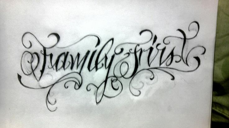 Family First Tattoo Design For Women Tattoo's for > family first