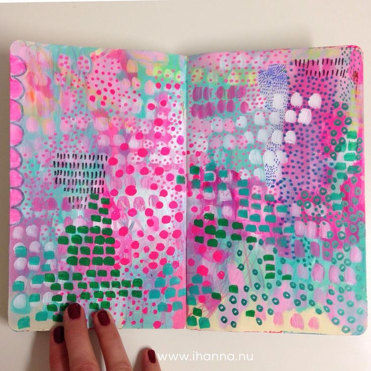 Last art journal page of 2016 by @ihanna #artjournal #moleskine