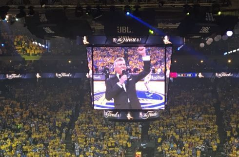 "Michael Buffer Kicks off Game 1 of #NBAfinals With ""Let's Get Ready to Rumble"" (Video)"