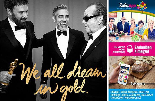 Érdekességek az Oscar-díj történetéből! Zsebedben a hétvégi infócsomag! - (02. 27-28.) - Zala app, Zala megye ingyenes mobil alkalmazása!