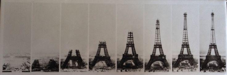 Eiffel Tower Being Built History Pinterest Posts