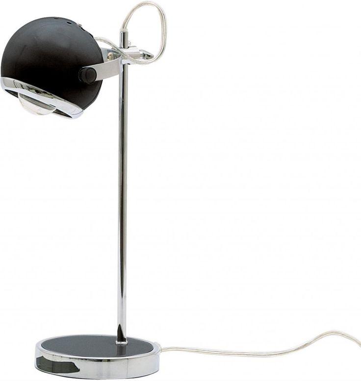 Bureaulamp Retro - CN884BK - Mini - zwart - Leitmotiv (SALE)
