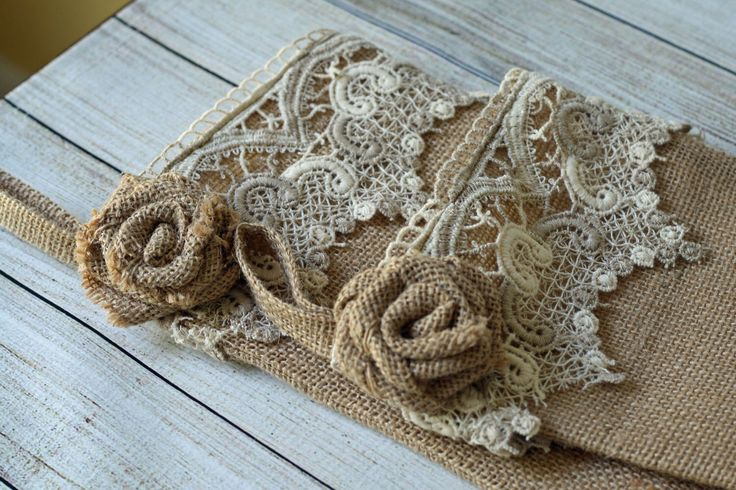 Burlap Christmas Stocking; Hand made Burlap Rose; Vintage Lace; Fully Lined Handmade; Natural color; Stocking Set by CottonRidgeEmporium on Etsy https://www.etsy.com/listing/242611111/burlap-christmas-stocking-hand-made