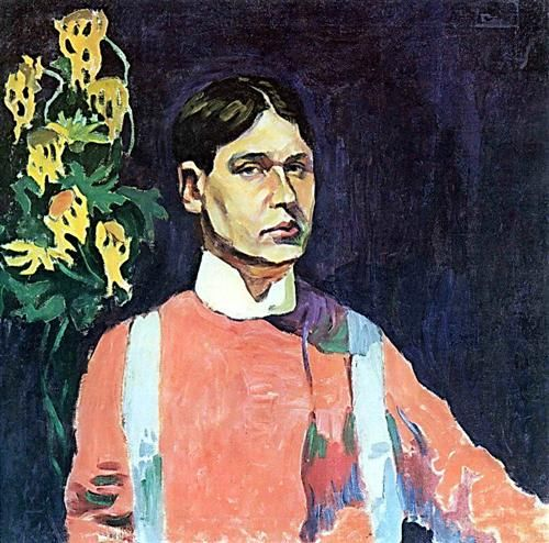 Self-portrait - Aristarkh Lentulov
