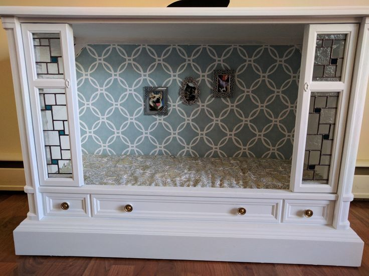 DIY Home Decorations Blog  Old-School Tube TV Dog bed  http://ift.tt/2oI4Cyu
