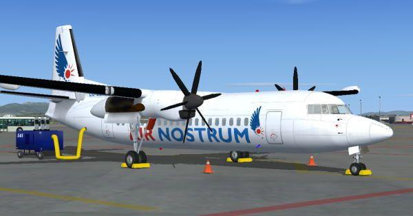 Air Nostrum Fokker 50