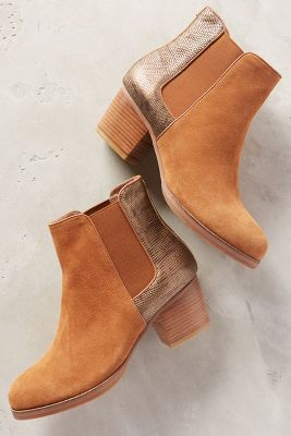 Anthropologie Yosi Samra Liberty Booties