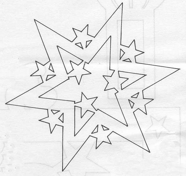 Etoile avec étoiles 2