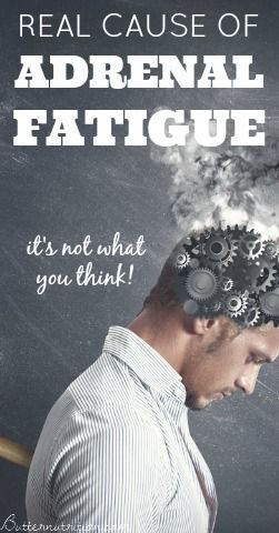 The REAL cause of Adrenal Fatigue (hint: it's not what you think)!   Butter Nutrition