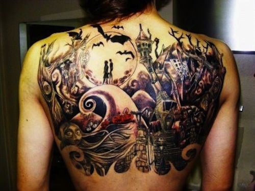 263 best images about disney tattoo o o on pinterest for Ghost town tattoo