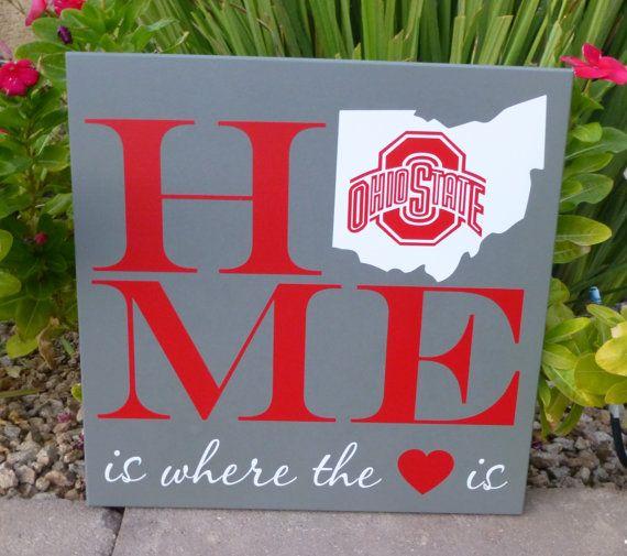 Ohio State Buckeye Sign by sassytalk on Etsy, $30.00