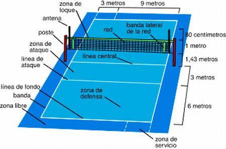 Informacion de volleyball.