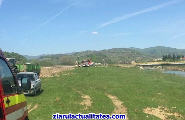Intervenție a pompierilor în comuna Albeștii de Argeș! Scenariul exercițiului a fost al unei inundații