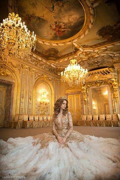 Tamara Shkuratova by Anna Evlanova ~ Olga Malyarova gown