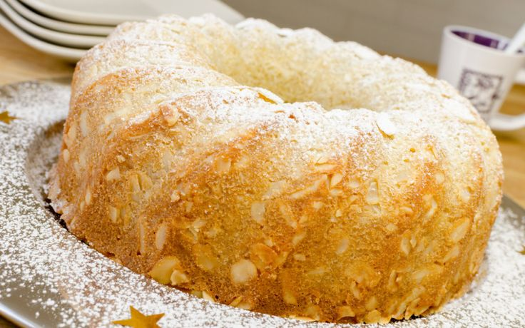 Abraham Lincoln's Favorite French Almond Cake #recipe