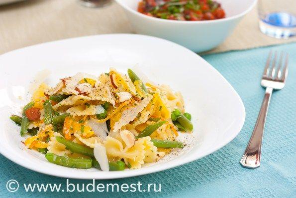 Аутентичная итальянская #Паста Примавера #рецепты #кулинария #итальянскаякухня