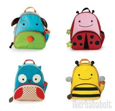 ZOO hátizsák többféle mintával