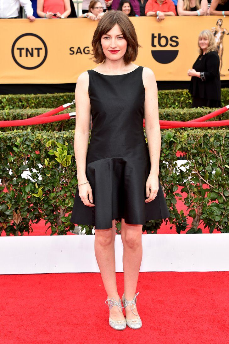 Pin for Later: See All the Stars on the SAG Awards Red Carpet! Kelly Macdonald