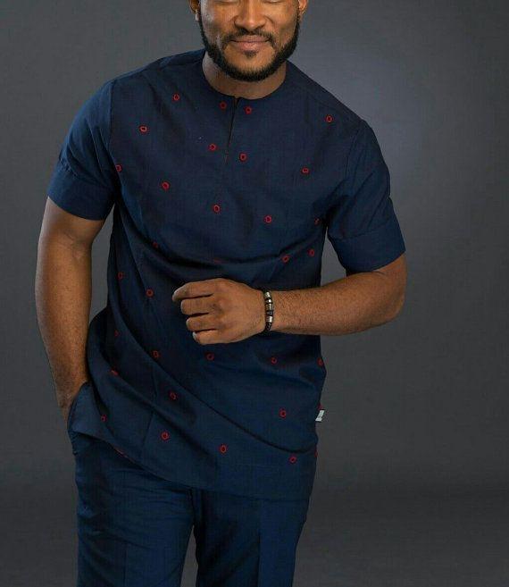 African men's attire African men's wear African by AnkaraBowTies