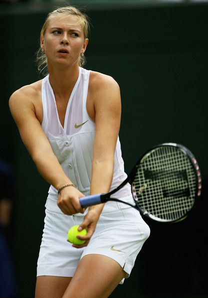 Pro tennis player Maria Sharapova