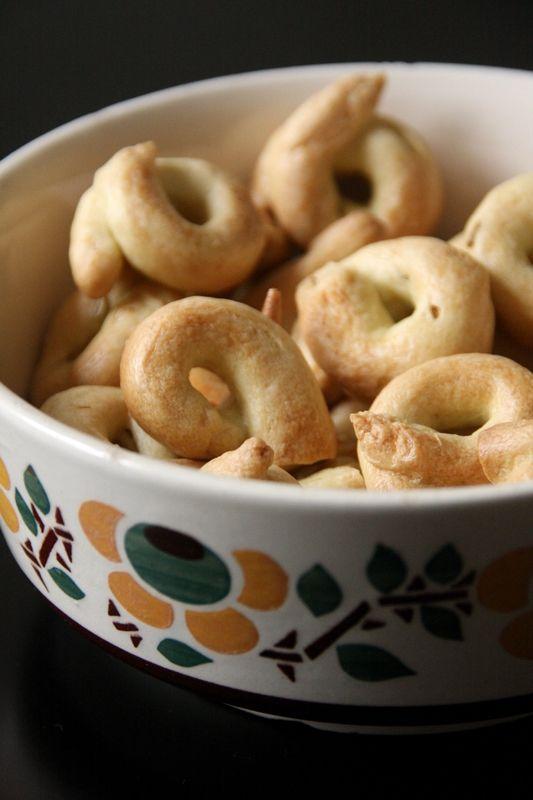 Apéro italien - Taralli, biscuits italiens salés au fenouil