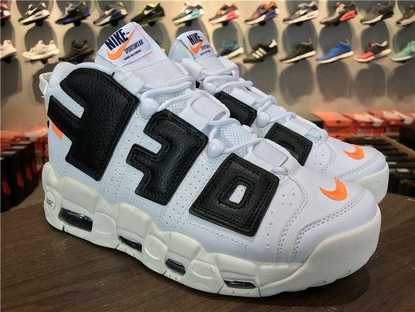 competitive price d4fa3 41eb8 Supreme x Nike Air More Uptempo OFF-WHITE X Suptempo 902290-106 White