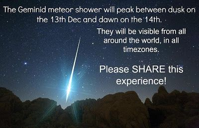 The Portal: Geminid Meteor Shower