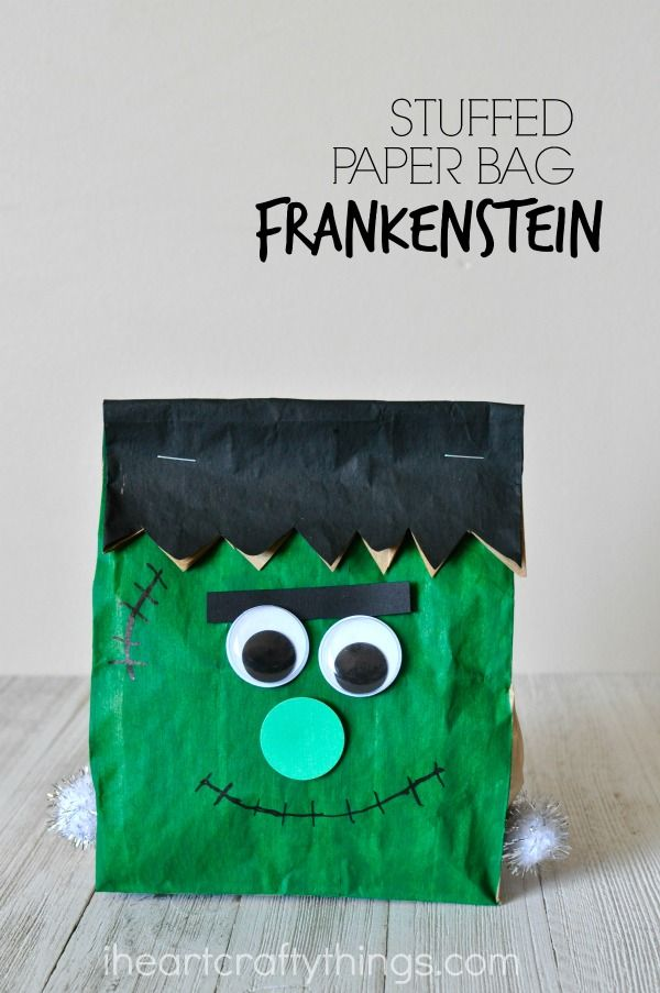 9 best Halloween images on Pinterest Brown bags, Kid halloween and - make halloween decoration