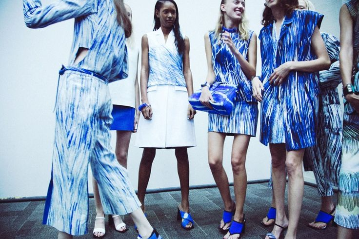 Print fashion at Kenzo SS14, pinned by Modeconnect.com