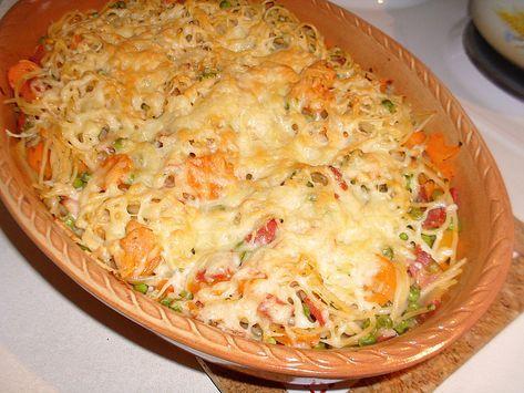 Überbackene Gemüse - Spaghetti 12