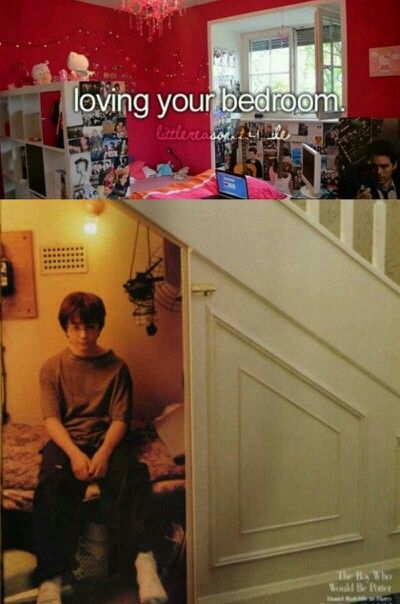 Harry Potter chilling in his bedroom (Just Girly Things Parody)