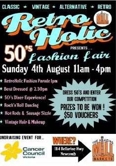 There's going to be over 20 hotrods parked outside our venue at Geelong as part of our Retro Holid 50s Fashion Fair! #hotrods #cars #auto