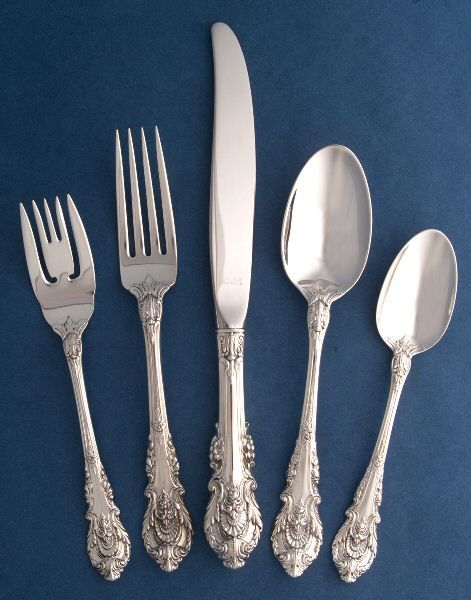 Images about silver flatware patterns on pinterest