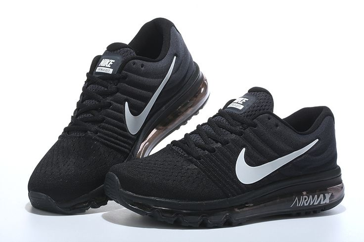 Nike Air Max 2017 Women Men Black White Shoes