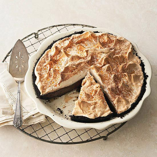 Brown-Bottom Butterscotch Cashew Cream Pie from the Better Homes and ...