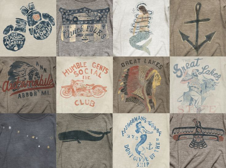 AVTOTees Shirts, Amazing Graphics, Graphics Tees, Graphics Inspiration, Vintage Stuff, Vintage Tees Graphics, Anne Arbors, Nautical Tees, Vintage Shirts