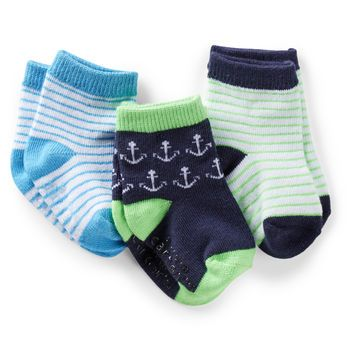 3 pack Nautical Socks - - from Carter's