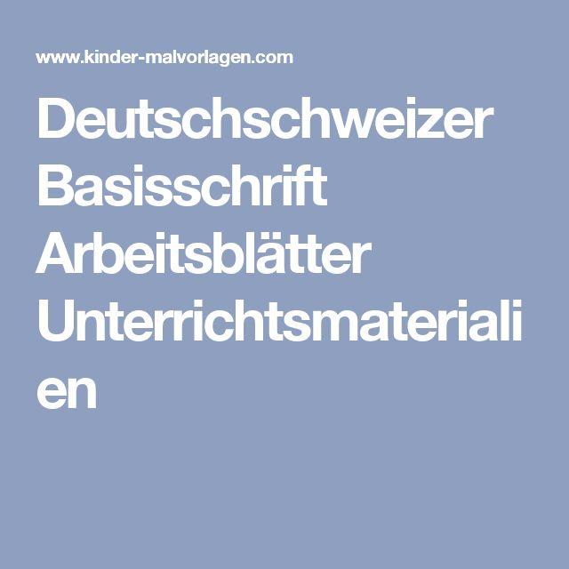 107 best Schrift/Buchstaben images on Pinterest | Kindergarten ...